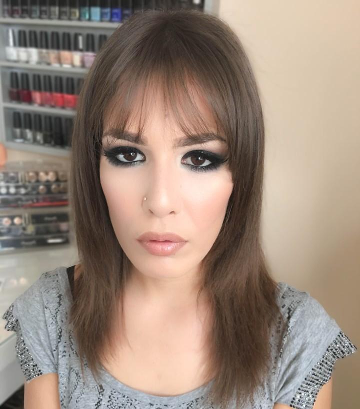 Dark Smokey Eye Makeup Look