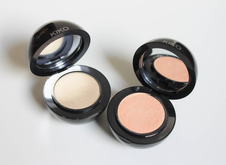 Cream Radiance highlighter 01 and 02