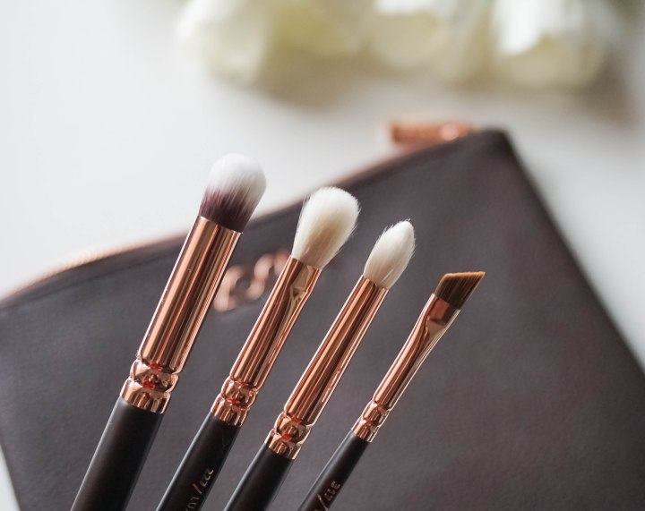 zoeva rose golden brushes