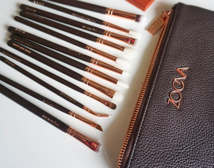 ZOEVA- ROSE GOLDEN COMPLETE EYE SET
