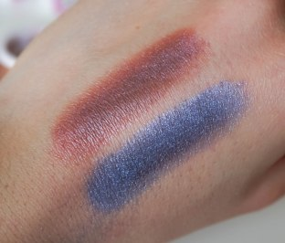 SWATCHES- Artist Stroke mineral loose eyeshadow 04, 05