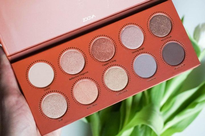 ZOEVA Rose Golden eyeshadow palette