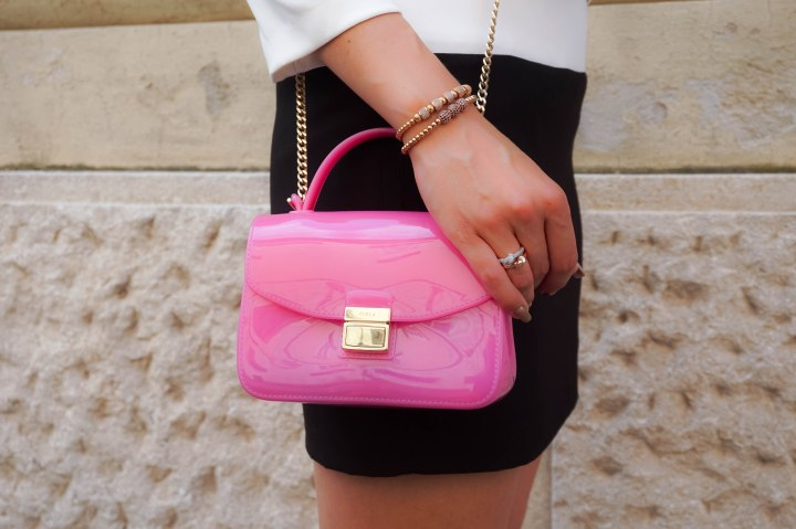 Furla Candy, Zenger bracelets, Bronzallure knotted rings