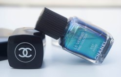 CHANEL nail colour 657 Azuré