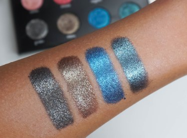 From left to right: granite, lithium, vega, galaxy