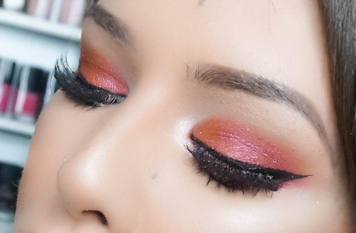 Eyemakeup close-up