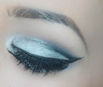 This is the finish look with falsies