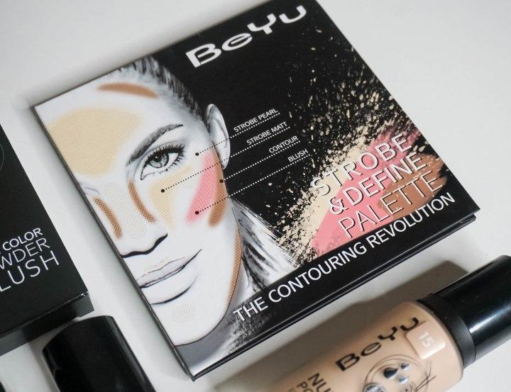 BEYU COSMETICS STROBE & DEFINE PALETTE