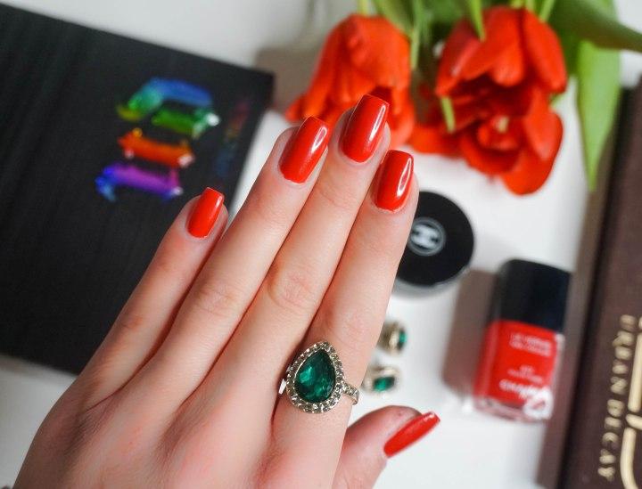 Chanel Le Vernis nail colour 677 Rouge Rubis