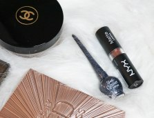 Sleek Glitter Eyeliner 269 Steel, Nyx Matte lipstick Maison
