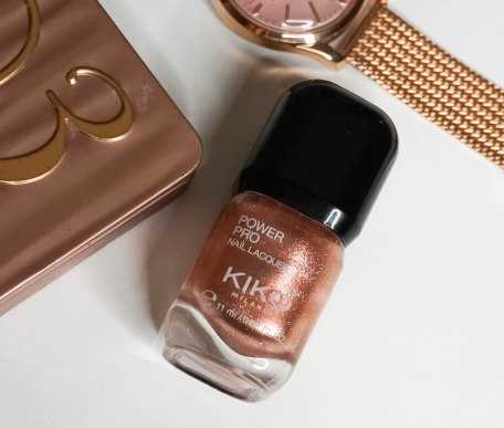 KIKO MILANO POWER PRO NAIL LAQUER 56- GOLDEN BRONZE