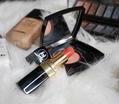 Chanel Rouge Coco 468 Michèle, Chanel Joues Contraste blush 370 Élégance