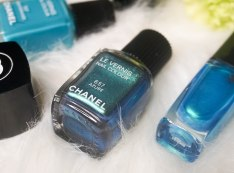 CHANEL nail colour 657 Azurè