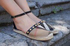 Burberry Abingdon studded espadrilles