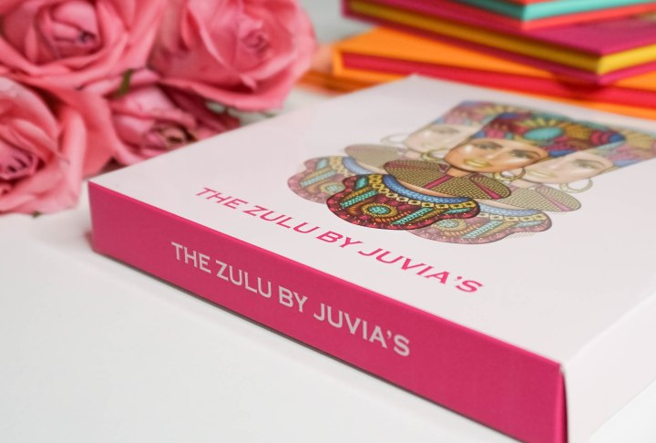 JUVIA'S PLACE- THE ZULU PALETTE