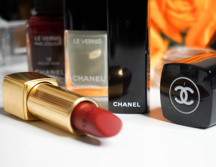 CHANEL TRAVEL DIARY- LIP AND NAIL PRODUCTS