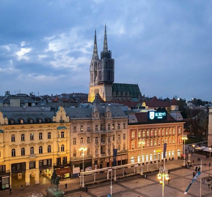 DATE NIGHT IN HOTEL DUBROVNIK,ZAGREB