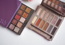 Urban Decay Heavy Metals and Ultimate Basics eyeshadow palettes